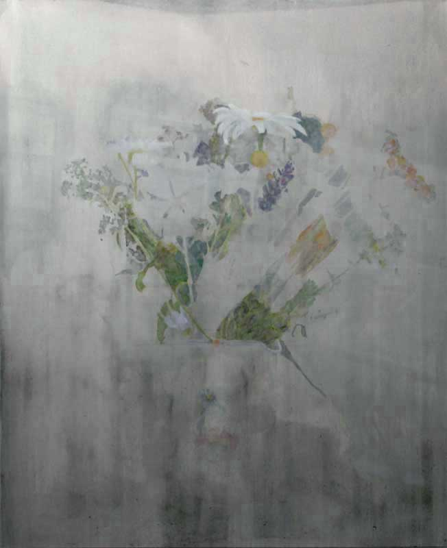 Oxeye Daisy 2015, oil on canvas, 168 x 137 cm