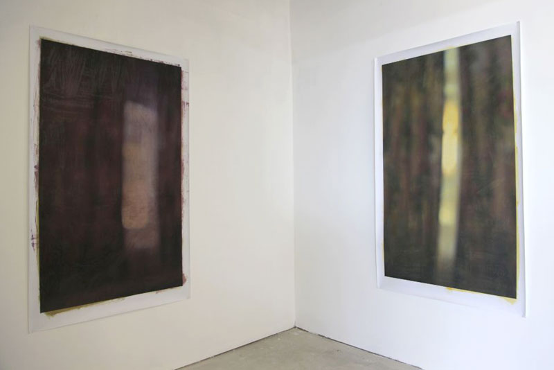 Curtains,  installation view